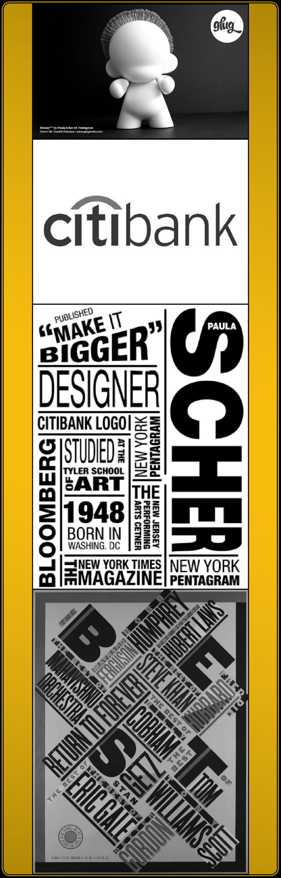 the life and work of paula scher an influential graphic designer The stuckeman school lecture series will host paula scher graphic designer scher to lecture at penn state scher is a renowned graphic designer.